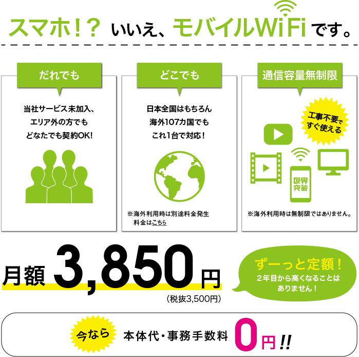 限界突破wifi 契約期間